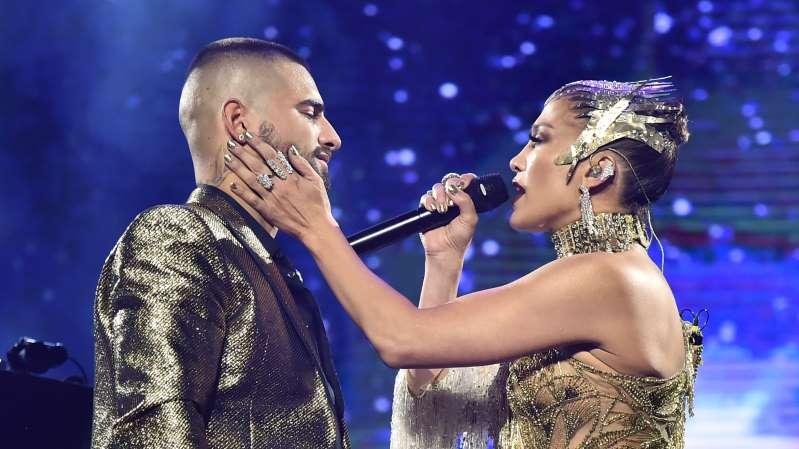 Maluma y Jennifer Lopez ligados en noviazgo