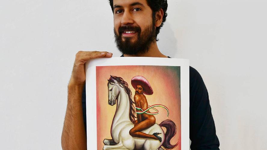 "Manifiestan descontento por   la exposición ""Zapata después de Zapata"""