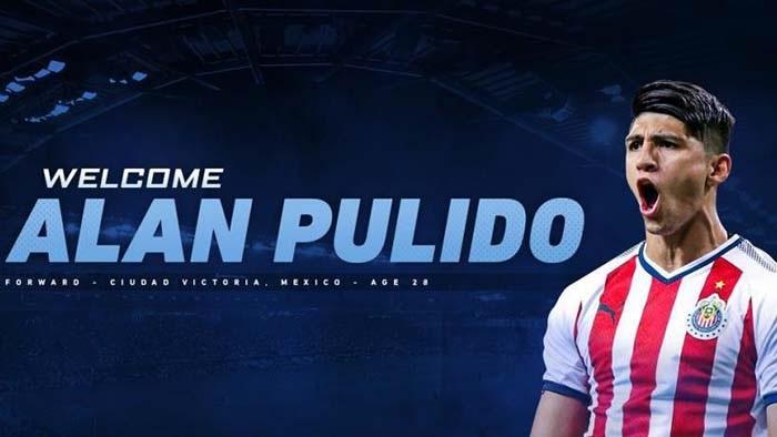 Anuncia Sporting Kansas City contratación de Alan Pulido