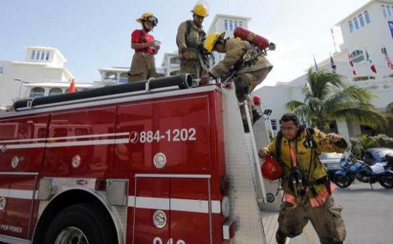 Se Reportan Bomberos Listos Para Atender Emergencias Navideñas
