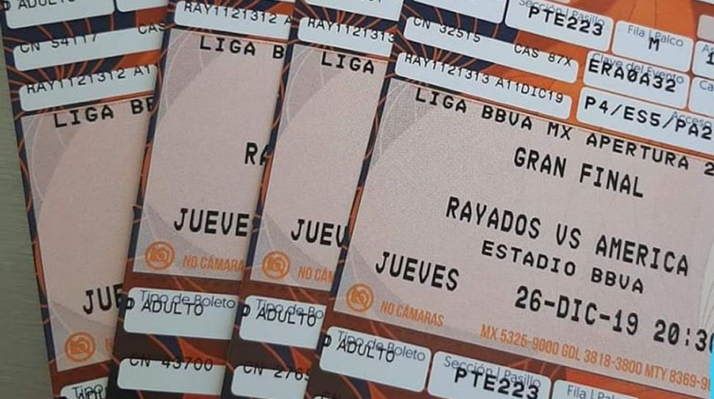 Reventa de boletos para la final de la Liga MX alcanza los 22 mil pesos