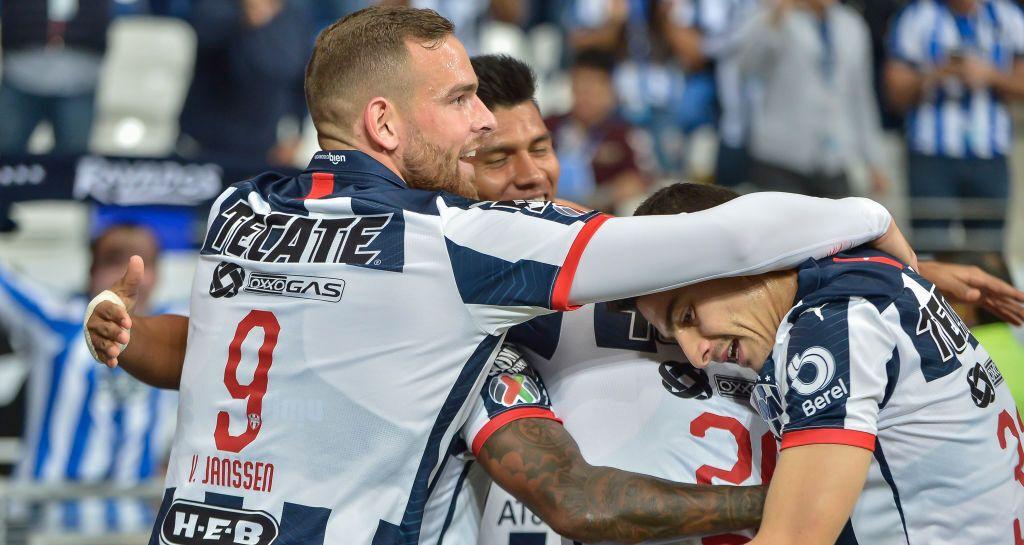 Monterrey aventaja al Necaxa