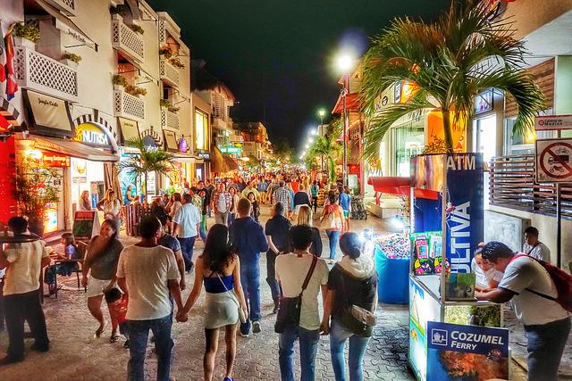 Repunte de turismo en Playa del Carmen por fin de año