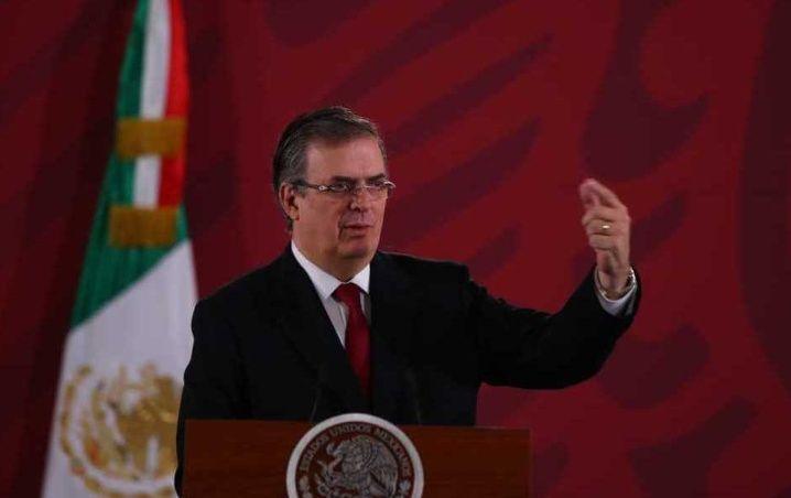 Ebrard presume unidad nacional ante insultos a AMLO desde Bolivia