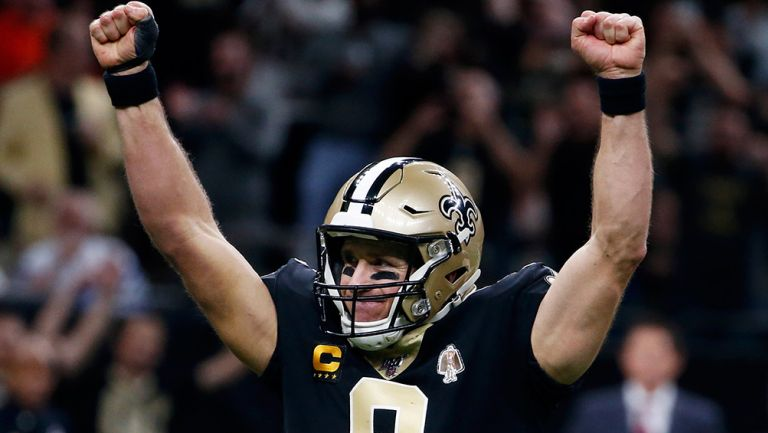Drew Brees se convirtió el en  jugador con más pases de anotación en la historia de la NFL