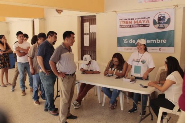 Apoyan el proyecto del Tren Maya