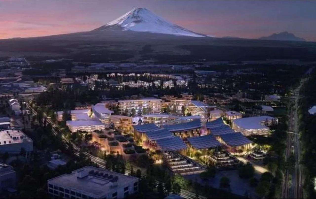 Toyota construirá ciudad futurista