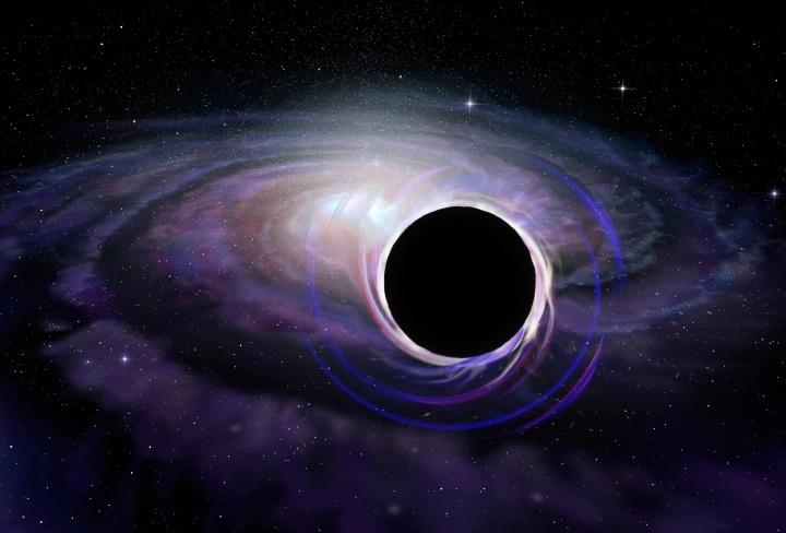 Descubren objetos extraños cerca de un enorme agujero negro de la galaxia