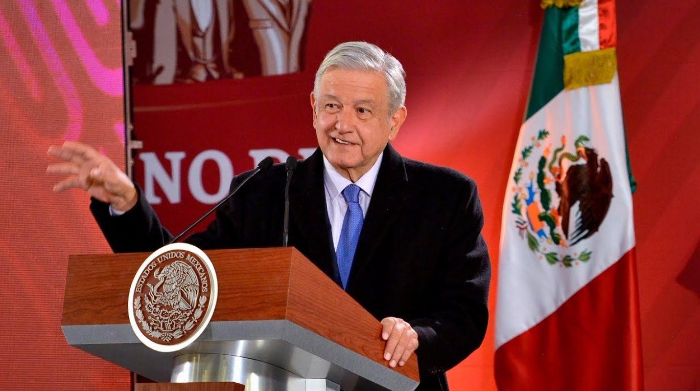 Afirma AMLO que en la elección de Morena «no hay línea»