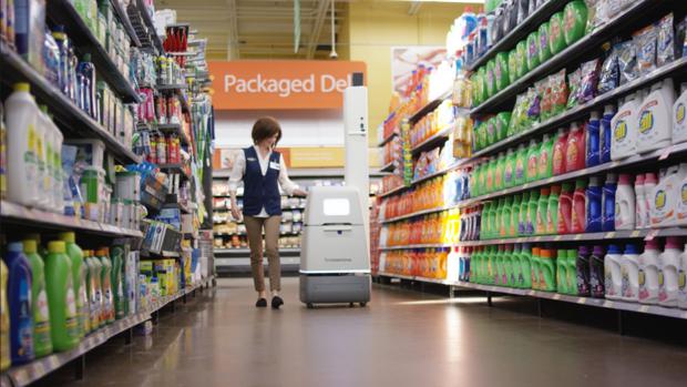 Walmart intenta reemplazar a humanos con androides