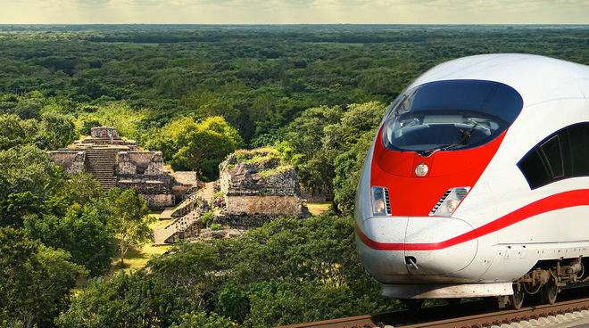 Se amparan contra Tren Maya en Campeche