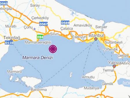 Tiembla en  Turquía