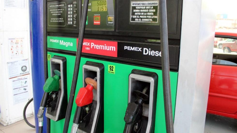 Costo de la gasolina para hoy
