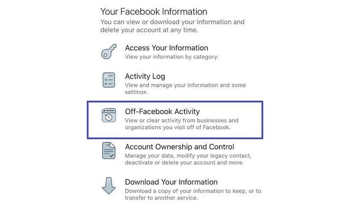 Facebook permitirá borrar el historial