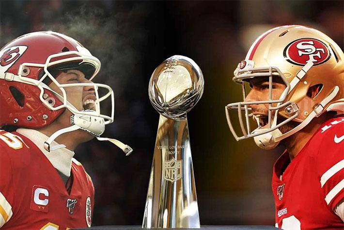 Super Bowl LIV se disputará entre Jefes y 49ers
