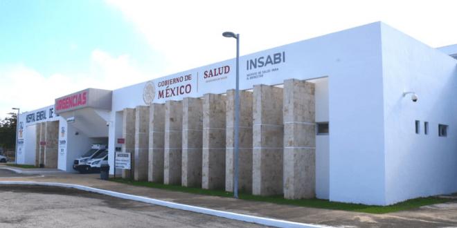 Inauguran en Mérida el primer hospital que operará el Insabi