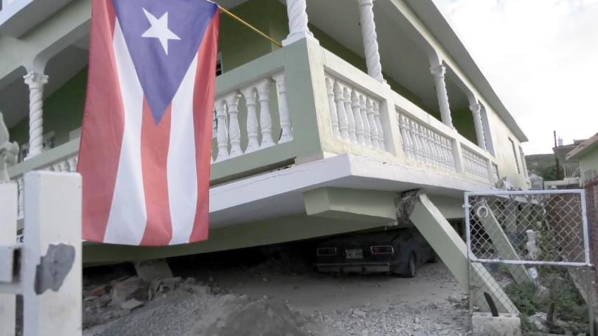 Sismo sorprende a Puerto Rico