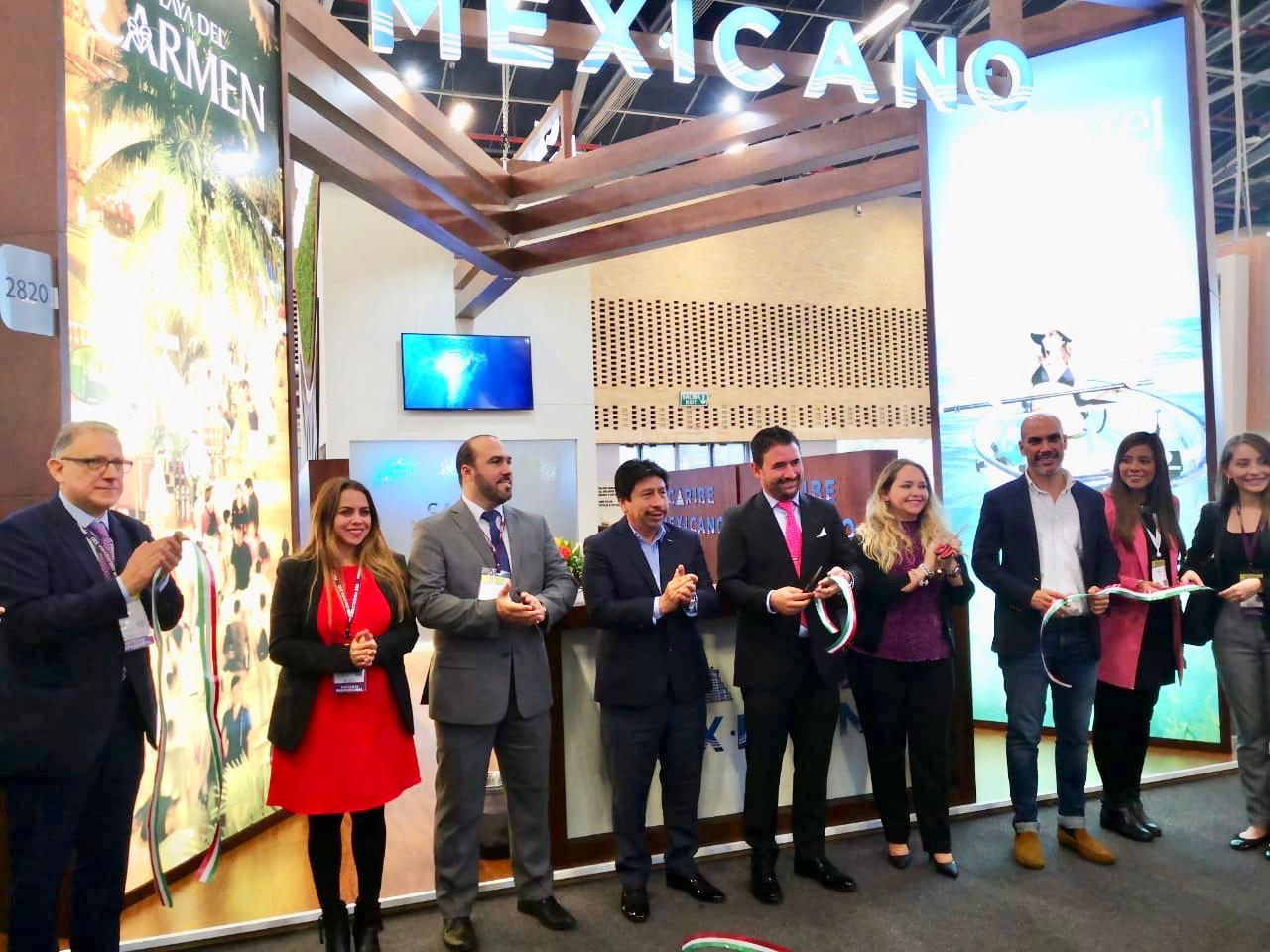 Presente Quintana Roo en Vitrina Turística ANATO 2020 en Bogotá