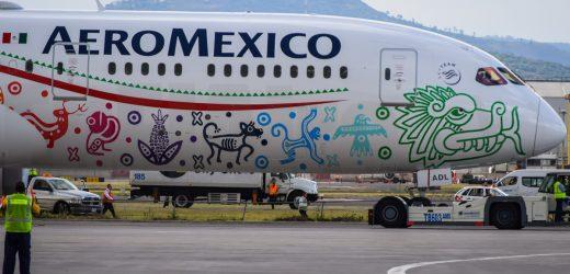 Aeroméxico reduce 48% sus vuelos a Seúl