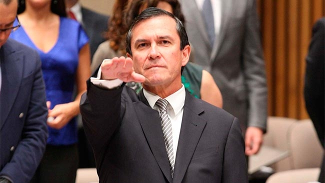 Edmundo Jacobo  es reelegido como Secretario Ejecutivo del INE