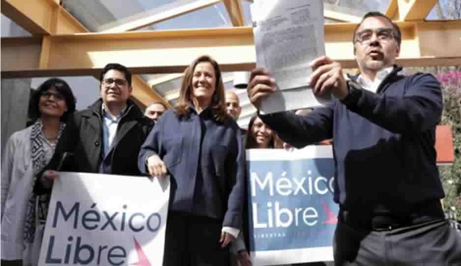 México Libre recibe registro como partido político