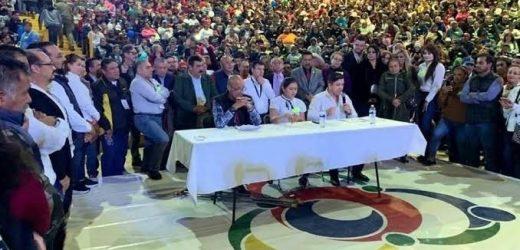 Fuerza Social formaliza registro en el INE