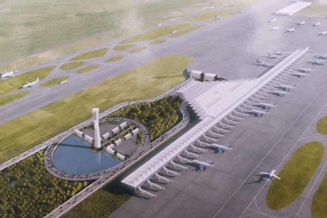 AMLO promete terminar aeropuerto en Santa Lucía en 2022