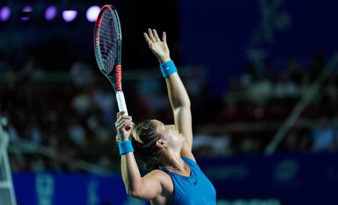 Renata Zarazúa cae en semifinales del AMT