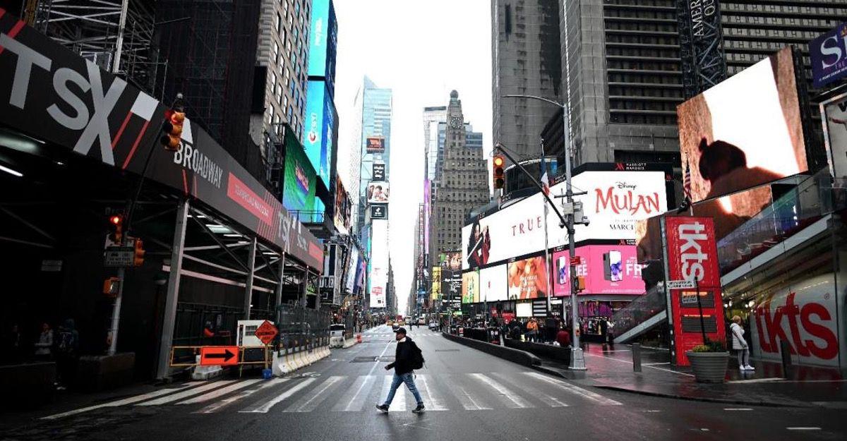 Nueva York es epicentro de la pandemia mundial por coronavirus