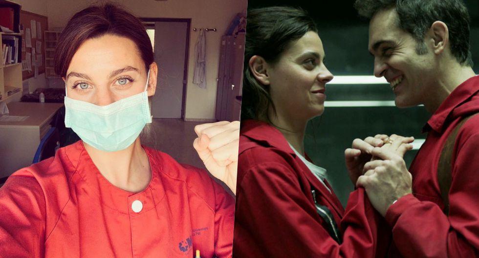 Clara Alvarado abandona la actuación para atender enfermos del COVID-19