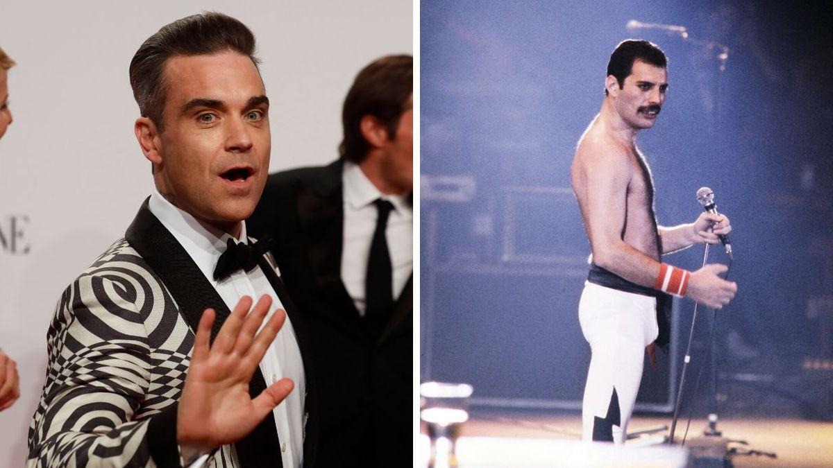 Robbie Williams confiesa que rechazó ser cantante de Queen