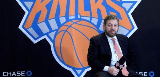 Confirman positivo a coronavirus al dueño de los Knicks de Nueva York