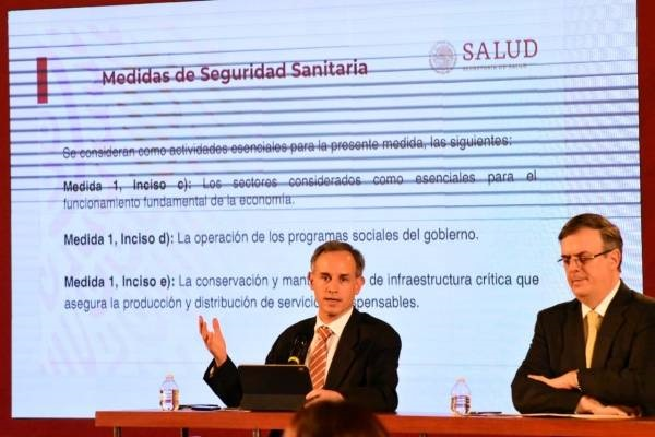 México decreta emergencia sanitaria por Covid-19