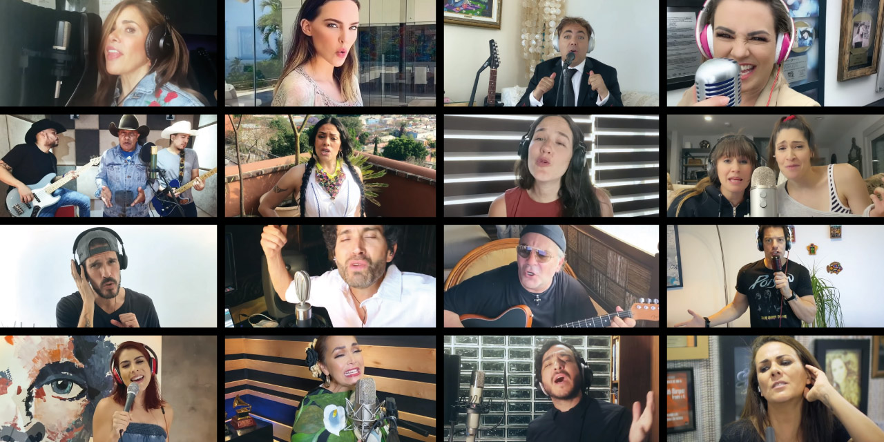 #ResistiréMéxico: Artistas mexicanos se unen y graban himno de esperanza