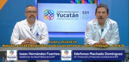 Gobierno de Yucatán activa redes sociales para el diagnóstico del COVID-19