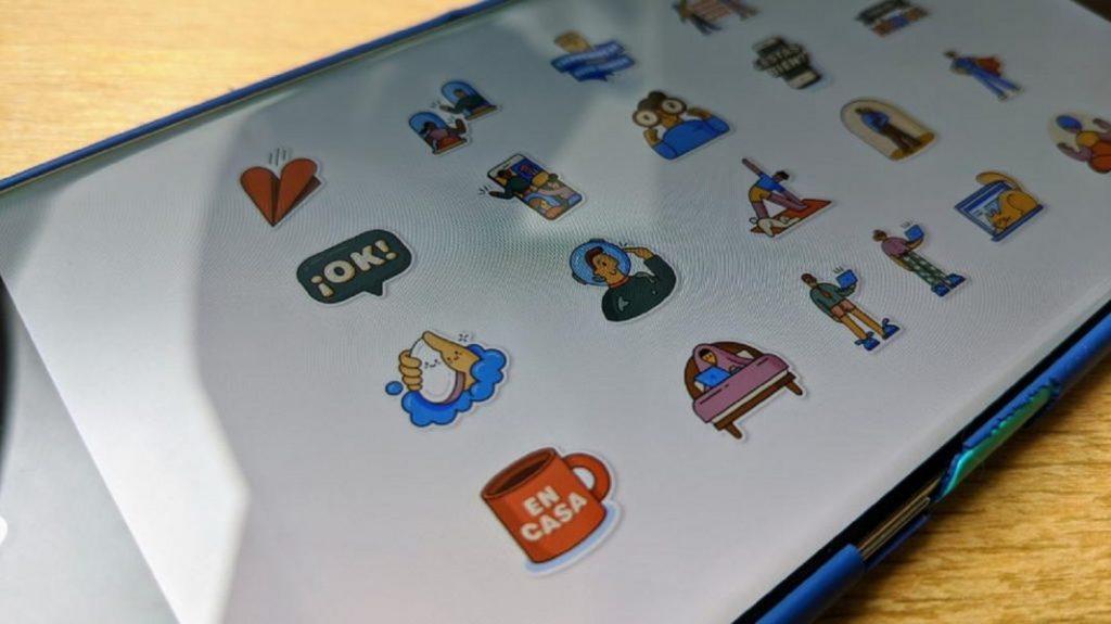 WhatsApp y OMS lanzan colección de stickers