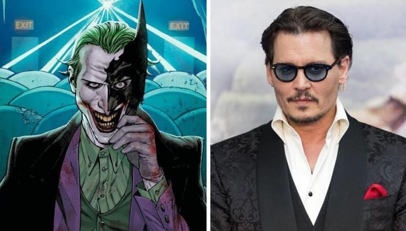 Confirman a Johnny Depp como Joker en el Universo Batman