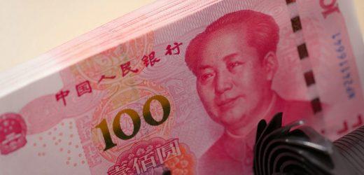 Histórica caída de la economía en China