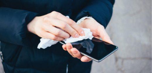 ¿Cómo desinfectar correctamente el celular?