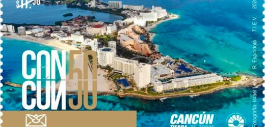 Listo el timbre postal conmemorativo de Cancún