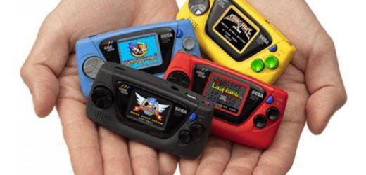Sega nos sorprende con el lanzamiento del bonito Game Gear Micro
