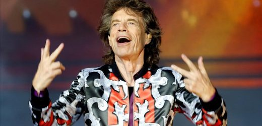 Mick Jagger , se une a #BlackOutTuestday