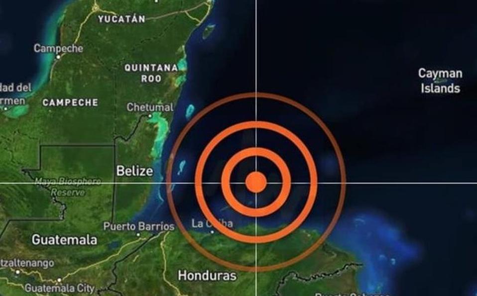 Sismo de 5.7 sorprende en Chetumal