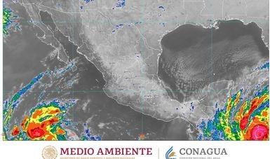 'Eta' ahora provocará lluvias en el sureste del país