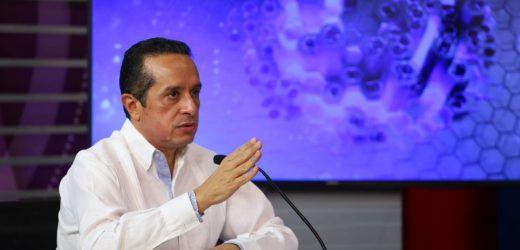 "Gobernador Carlos Joaquín da informe de la trayectoria del huracán ""Eta"""