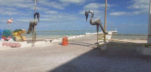 Cierran playas y malecones de Yucatán